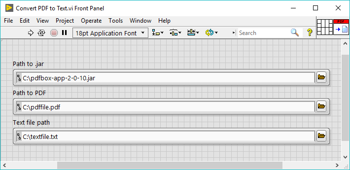 Convert a PDF to Text Using LabVIEW - National Instruments