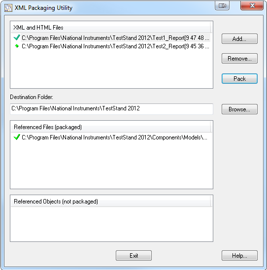 View TestStand XML Report Files without TestStand Installed