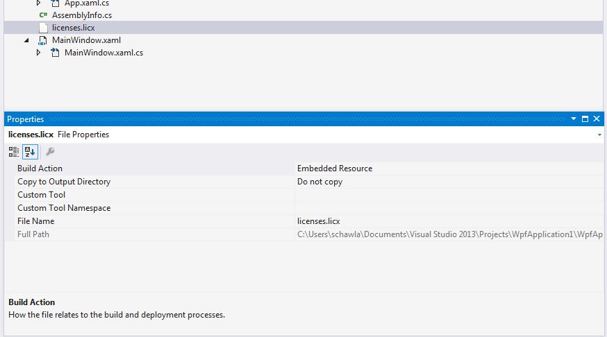Unlicensed WPF Control Error with Measurement Studio 2015