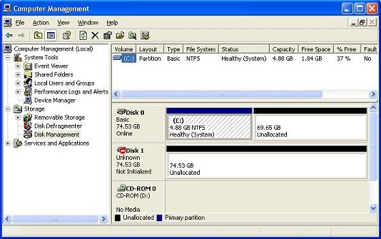 Archived: Setup a RAID Array in Windows XP or Windows 2000