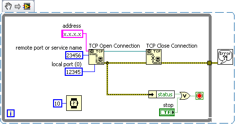 Get Error 60 When Closing and Opening a TCP Connection on