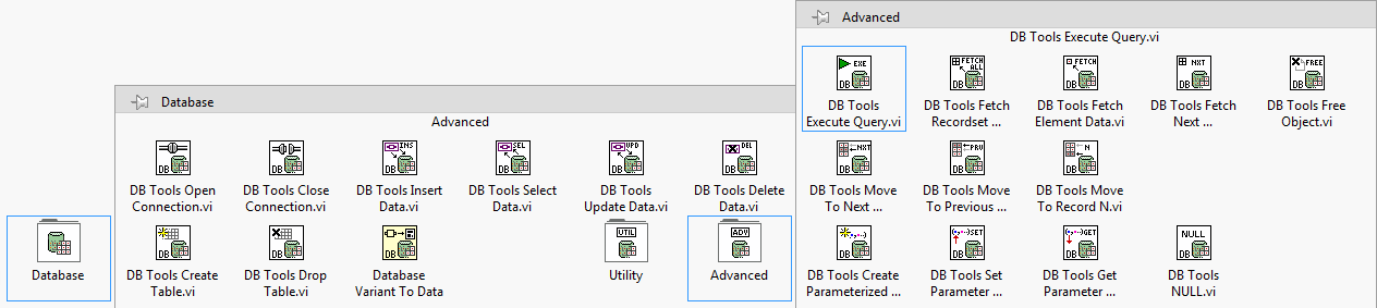 Executing Advanced SQL Statements With Database Connectivity