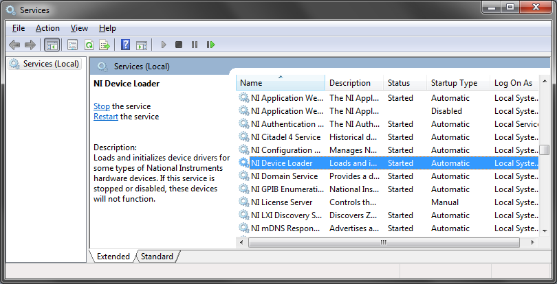 DAQ Device Shows up as USB Flash Firmware Loader in Device Manager