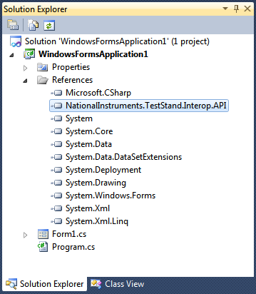 Error 1, Interop Type Cannot Be Embedded - National Instruments