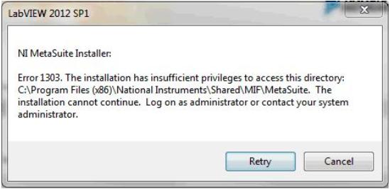 Windows Error When Installing or Uninstalling NI Software - National