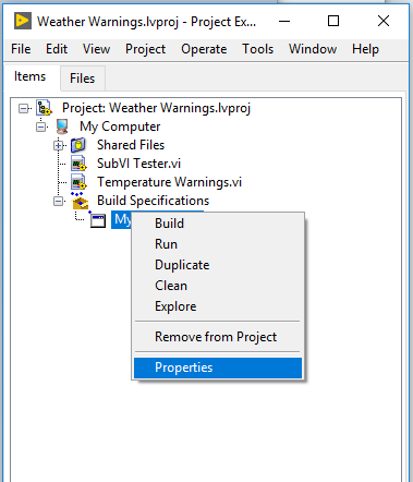 LabVIEW Load Error Code 3 When Running an Executable - National