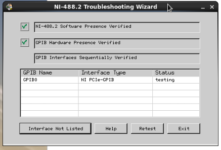 Archived: GPIB-PCIe Not Recognized In Dell 7050 Running Red Hat