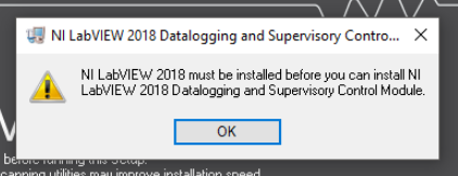 Error Installing LabVIEW DSC Module in LabVIEW - National