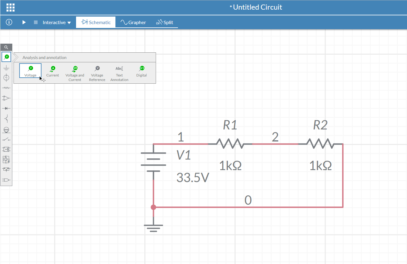 How To Measure Voltage In Multisim Live National Instruments Do You Current A Circuit Place This On Wire Your