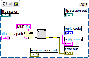 How to Create a FTP Server Folder in LabVIEW - National