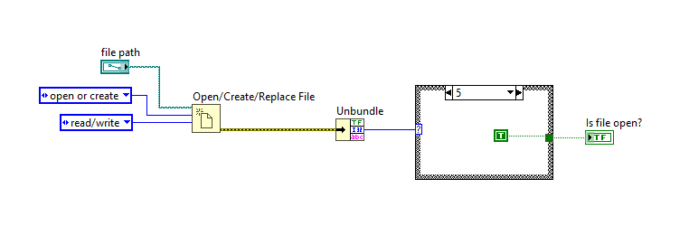 Check if a Particular File is Open in LabVIEW - National Instruments