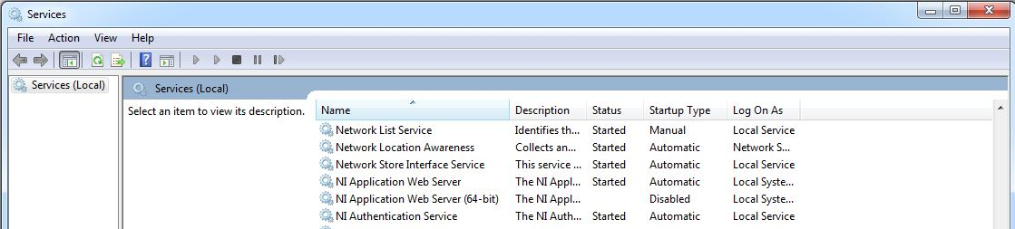 No Internet Access When LabVIEW Is Installed - National