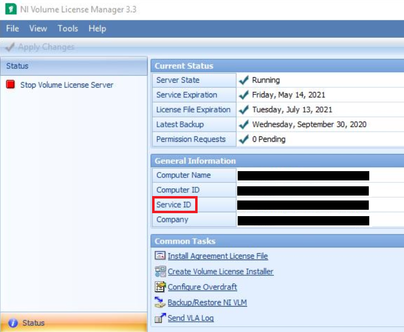 How To Find A Service Id For Ni Software National Instruments